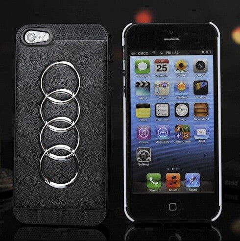 a74e019260 Audi Car Standard Phone Case For Iphone 5 5s Mobile Phone Shell Black  Models Cases