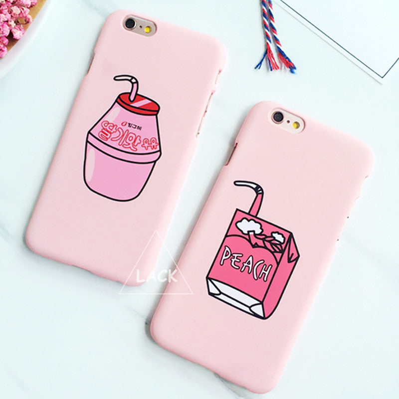 Fashion Cute Milk Box Case For Iphone 5s Case For Iphone 5 6 6s Plus