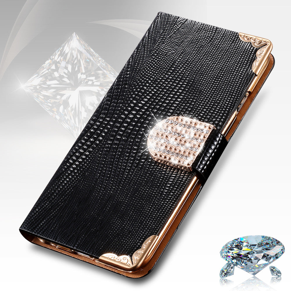217452e37ce1e1 For iphone 4s 5s Case Fashion Bling Diamond Luxury Rhinestone Leather  Wallet Case For Apple iPhone 4 4S 5s 6 6s Case Card Holder