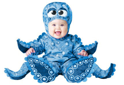 Kid S Cosplay Dress Halloween School Party Octopus Cosplay Costume