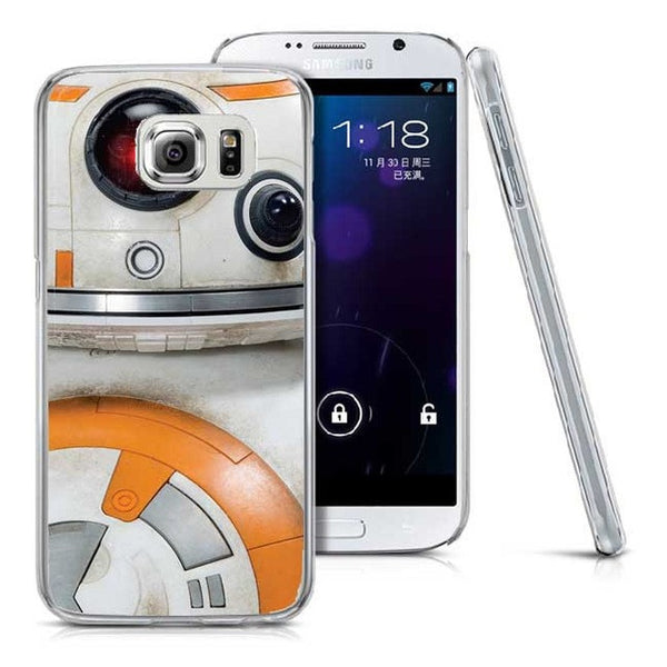 Star Wars The Force Awakens BB-8 Droid Robot R2D2 Plastic Cover Case For  Samsung A3 A5 A7 A8 Note7 3 4 5 S3 S4 S5 S6 S6 Edge S7