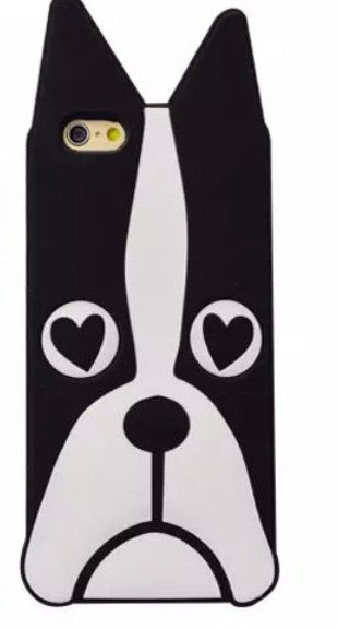9c2d32d51a7 Free shipping New Marc.Jacobs Cute Cartoon Animal Design Love Dog/Zebra  Soft Silicone Phone Cases For Iphone 7 4 5s se 6 6S PLUS