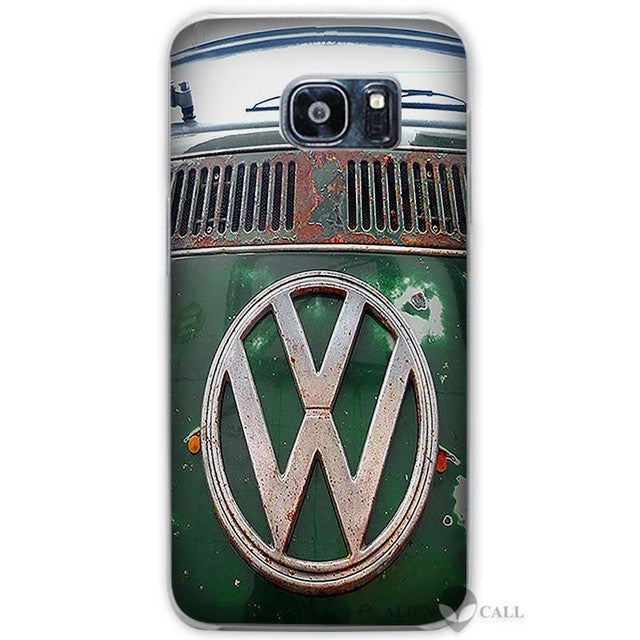 Hot Sale Volkswagen vw bus Clear Case Cover Coque Shell for Samsung Galaxy  S3 S4 S5 Mini S6 S7 Edge Plus