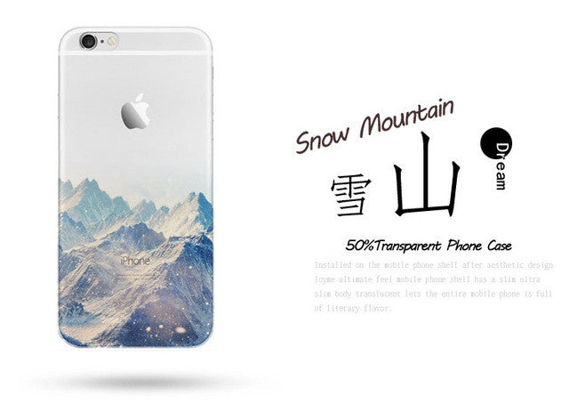 cover iphone 6s mountain