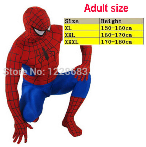 Novedan Red Black Spiderman Costume Spider Man Suit Spider-man Costumes Adults Children Kids Spider-Man Cosplay Clothing  sc 1 st  TakeSupply.com & Novedan Red Black Spiderman Costume Spider Man Suit Spider-man ...