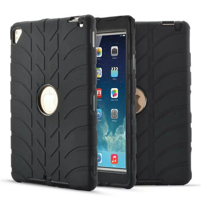 online retailer 5ce96 7a24e Case For iPad Air 2 Retina Kids Baby Safe Armor Shockproof Heavy Duty  Silicone Hard Cover For iPad 6 Table Case 9.7inch