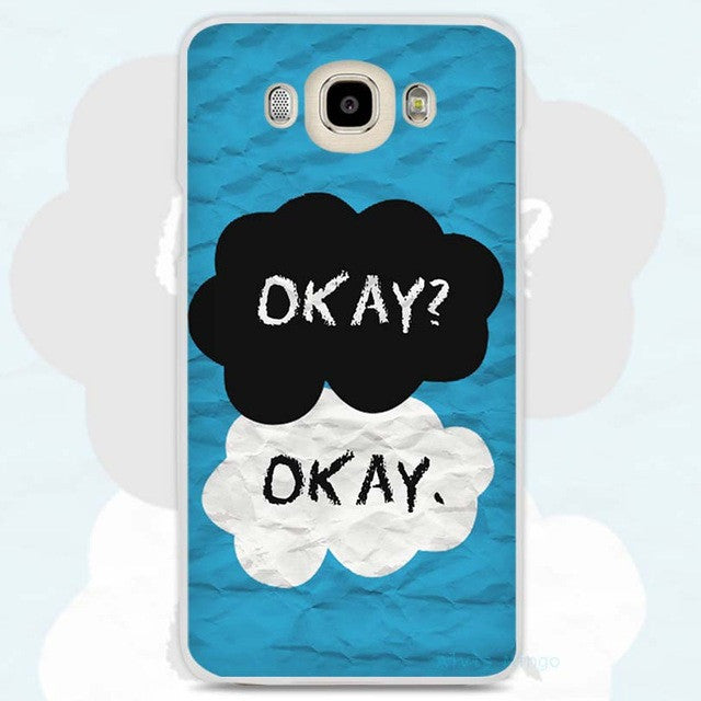 the fault in our okay okay phone cover for samsung