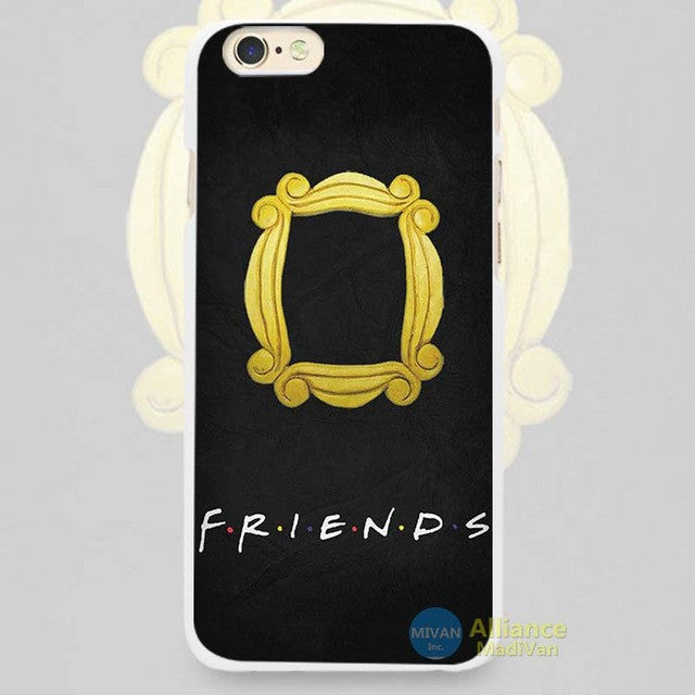 tumblr Friends TV Show Hard White Cell Phone Case Cover for Apple iPhone 4  4s 5 5C SE 5s 6 6s 7 Plus