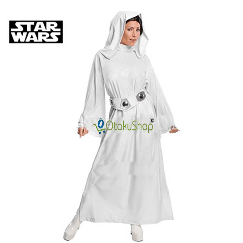 cute unicorn star wars costume princess leia cosplay costume custom made girls clothes female dress belt women children uniform