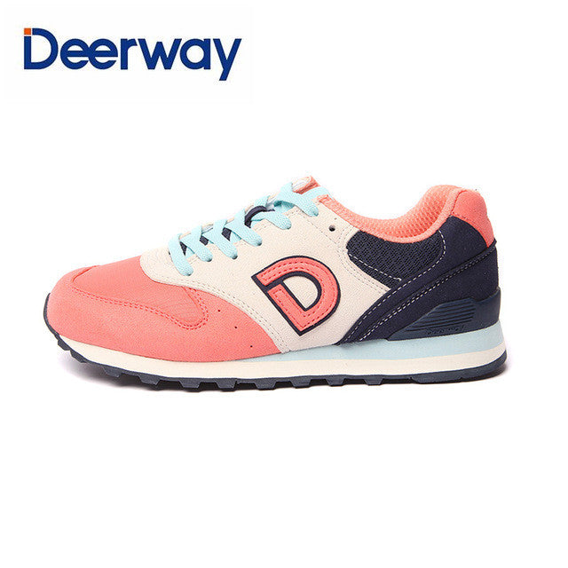 eec2d09f254c Deerway hot sale running shoes cheap sneakers women sapatilhas mulher  sports feminino esportivo Leather mesh Medium(B