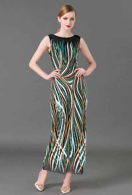 summer outfits for women multi color striped sequin dress sleeveless fitted plus  size maxi dress womens summer tank dresses 3acab60f4