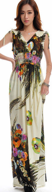 ffc1e59755fc2 Summer dress 2017 Beach Dress Long Bohemian Dress Plus Size 6XL Jupe  Atacado Robe Longue Roupas femininas Long Maxi Dress