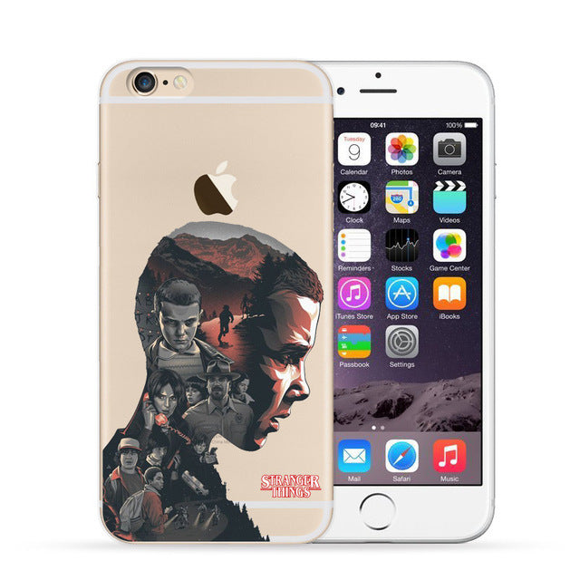 coque iphone 7 stranger things silicone