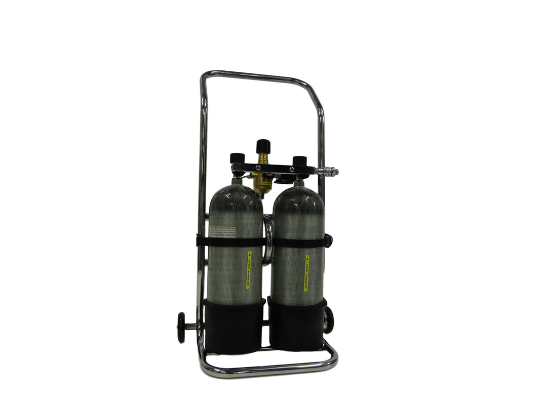 Carbon Cylinder Double Trolley