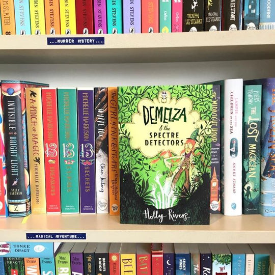 Book Review for 'Demelza & the Spectre Detectors' by Holly Rivers