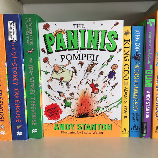 Review of 'The Paninis of Pompeii' by Andy Stanton