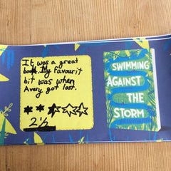 Year 4 Book Club read 'Swimming Against The Storm' by Jess Butterworth this month