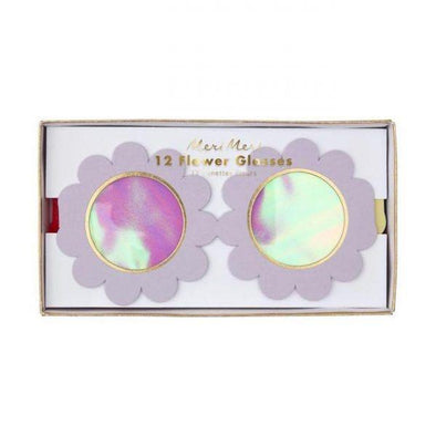 Meri Meri 12 Flower Glasses in box