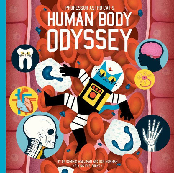 Human Body Odyssey- flying eye- front cover