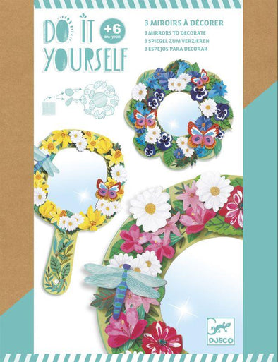 Djeco DIY Mirrors- Flowers