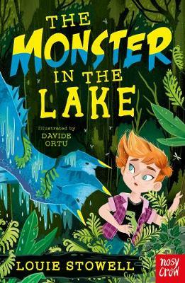 The Monster in the Lake - The Dragon In The Library (Paperback) Louie Stowell (author), Davide Ortu (illustrator)
