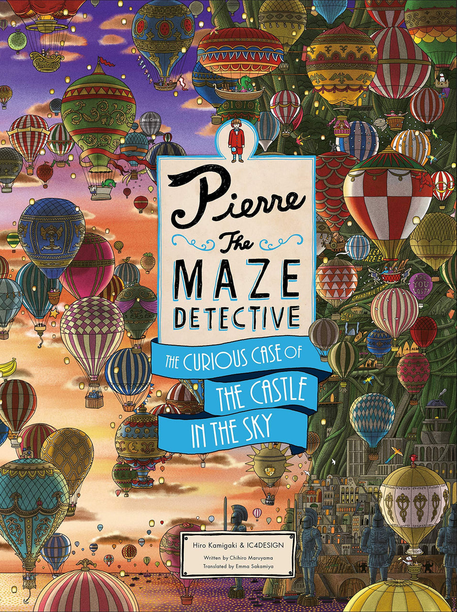 Pierre the Maze Detective - The Curious Case of the Castle in the Sky