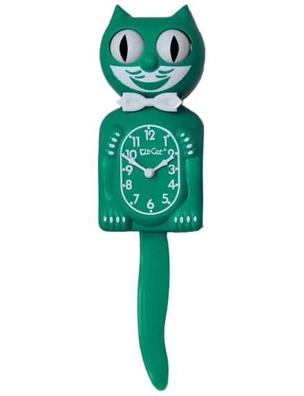 Large Kit-Cat Clock Green