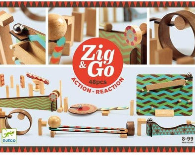 Djeco Zig and Go 48 pieces