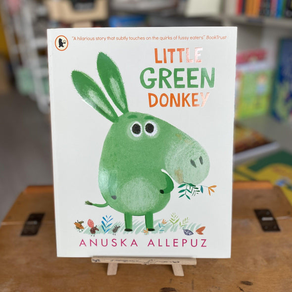 Little Green Donkey by Anuska Allepuz