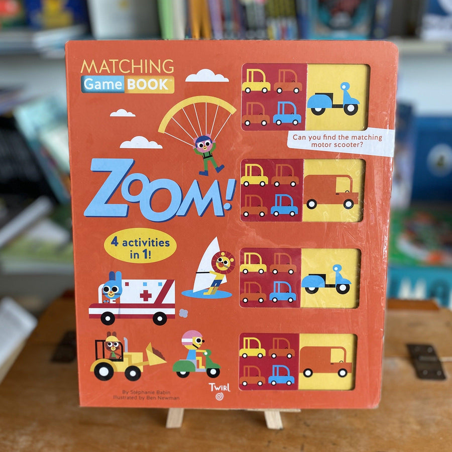 ZOOM BY STEPHANIE BABIN AND BEN NEWMAN