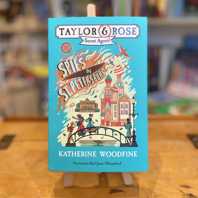 Spies in St Petersburg by Katherine Woodfine