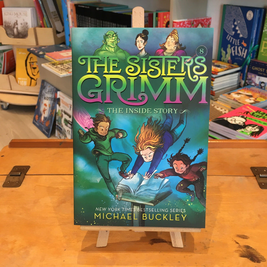 Sisters Grimm Series by Michael Buckley