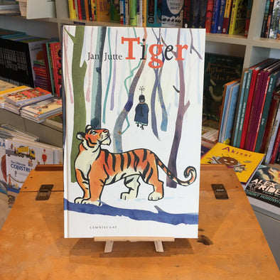 Tiger by Jan Jutte published by Lemniscaat