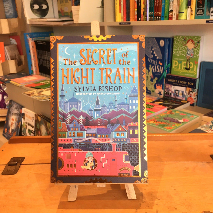 Secret of the Night Train by Sylvia Bishop