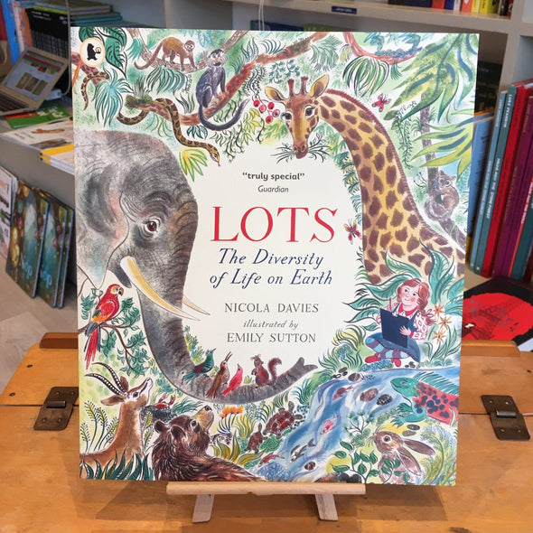 Lots by Nicola Davies illustrated by Emily Sutton