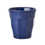 Rice dk Melamine Medium Cup- Dark Blue MELCU-NAB