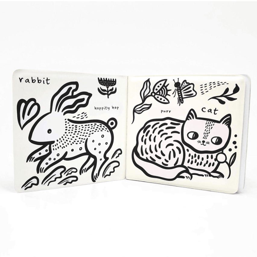 Wee Gallery Bath Book- Colour Me Who Loves Pets?