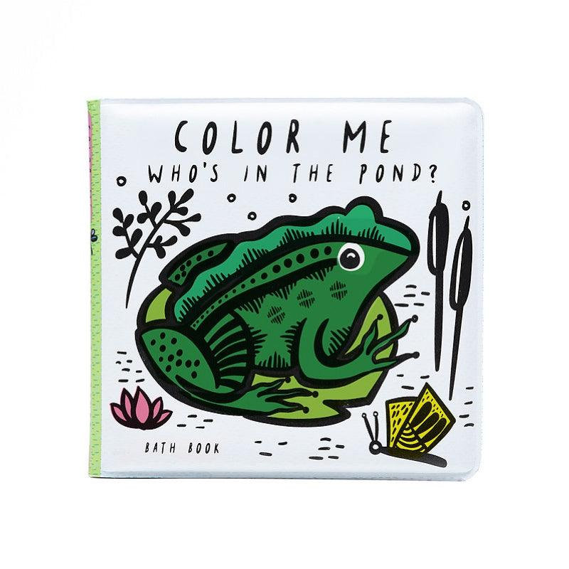 Wee Gallery Bath Book - Colour Me Who's In The Pond?