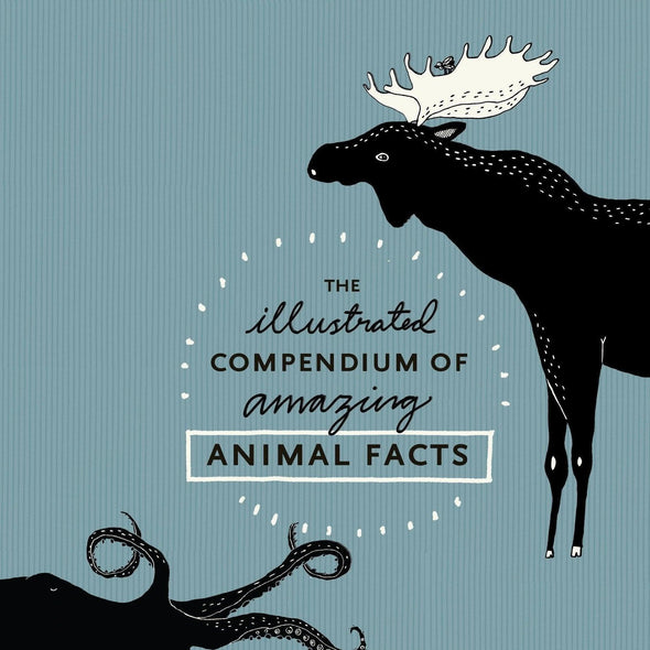 The Illustrated Compendium of Animal Facts Cover cropped