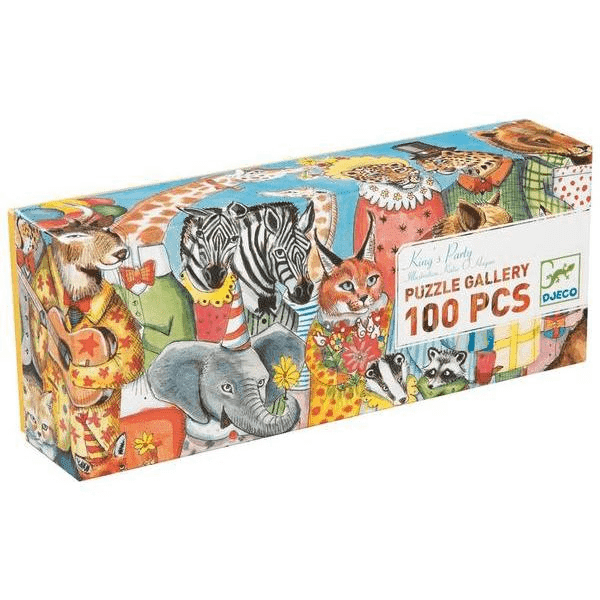 Djeco King's Party 100 Piece Puzzle