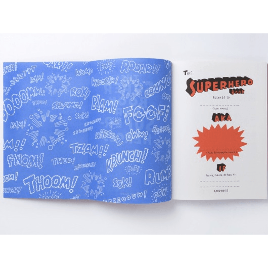 The Super Book for Super Heroes by Jason Ford