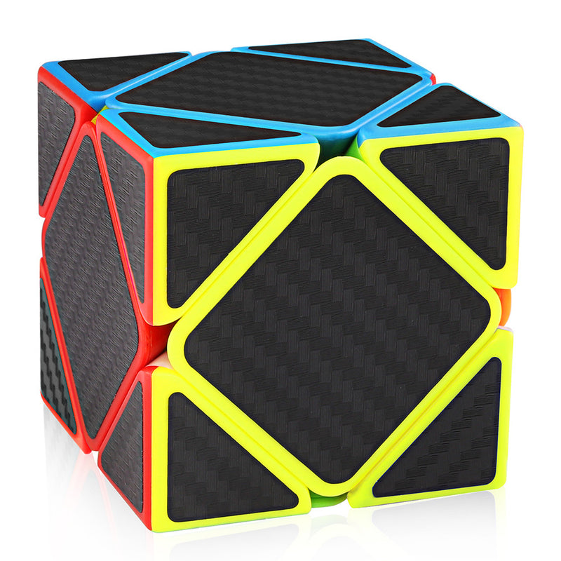 Skewb Speed Cube Carbon Fiber Sticker