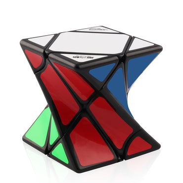 D-FantiX Qiyi MoFangGe Twisty Skewb 3×3 Stickerless Speed Cube 62mm