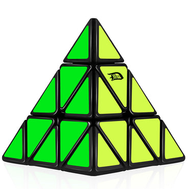 D-FantiX Pyraminx 3x3 Speed Cube Black