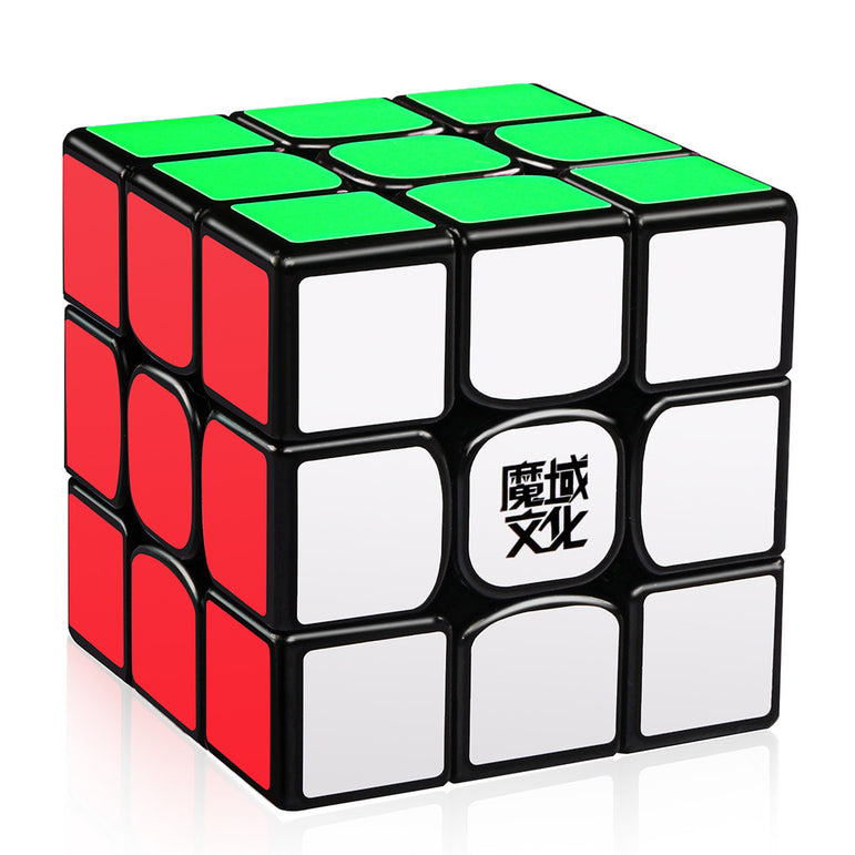 D-FantiX Moyu Weilong GTS2 3x3 Speed Cube Black