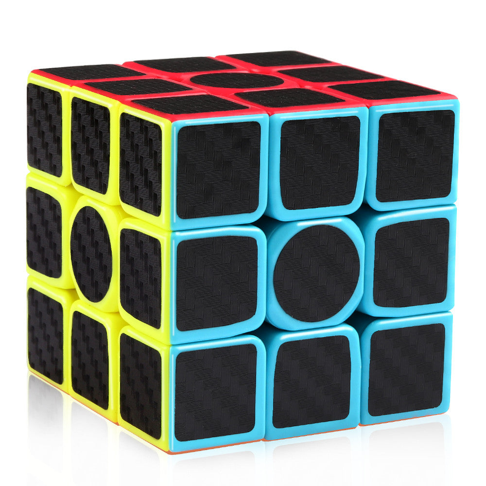 3x3 Speed Cube Carbon Fiber Sticker