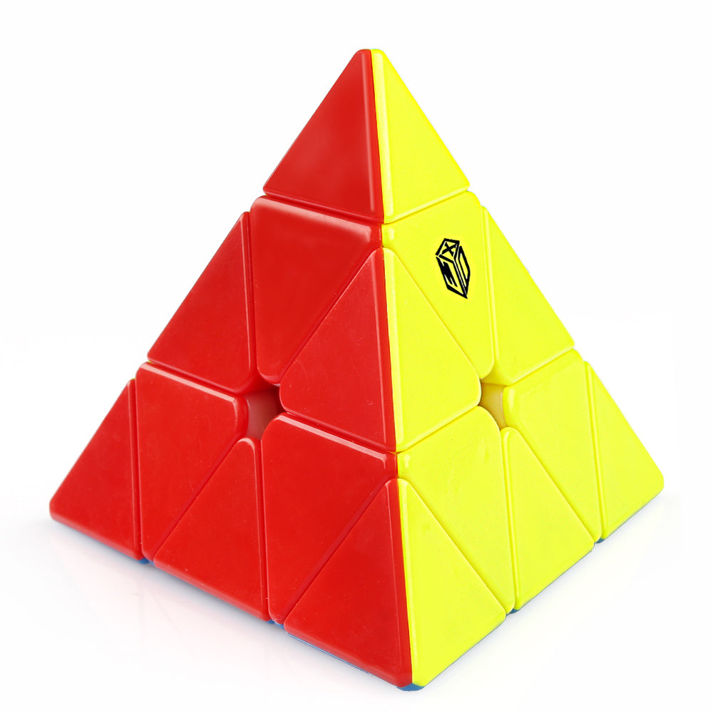 D-FantiX Qiyi X-Man Bell Magnetic Pyramid Speed Cube
