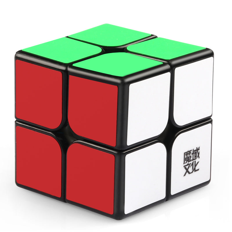 D-Fantix Moyu Weipo Speed Cube 2x2 Puzzle Cube Black