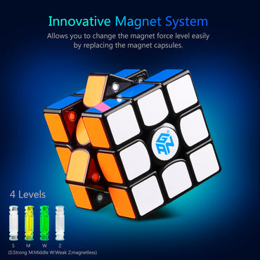 D-FantiX Gan 356 x Magic Cube Magnetic Black