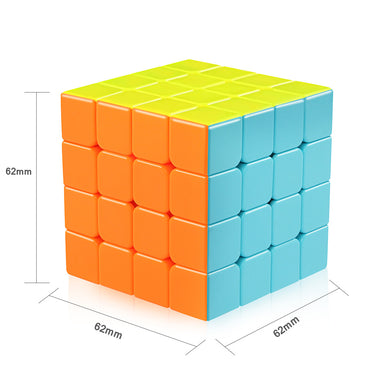 D-FantiX Qiyi Qiyuan S 4x4 Speed Cube Stickerless 4x4x4